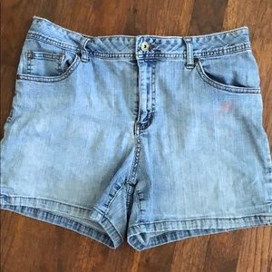 Adorable high waisted (on me at least) Jean shorts